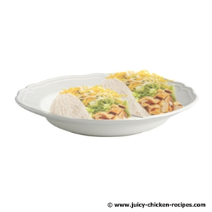 juicy chicken taco