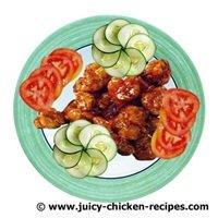 juicy General Tso Chicken