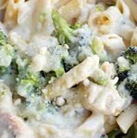 juicy chicken alfredo