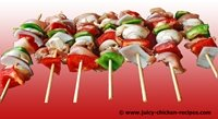juicy chicken kabobs