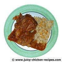 juicy chicken paprikash